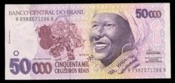 Dpl Numismatica Cedulas Do Brasil Padrao Cruzeiro E Cruzeiro Real